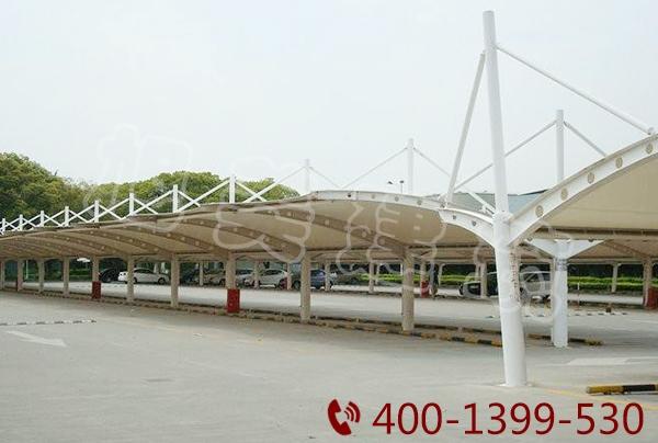 广场膜结构停车棚
