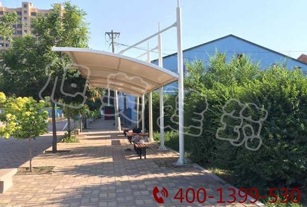 公交厂膜结构停车棚