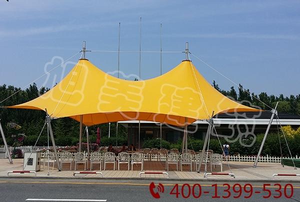 公园膜结构雨棚