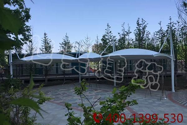 游乐园景观膜结构