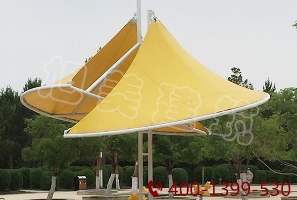 公园膜结构亭