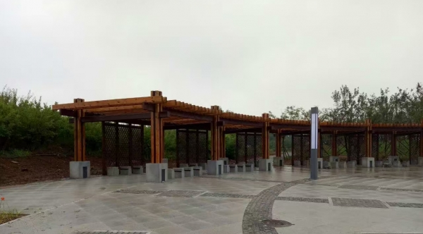 钢结构廊架