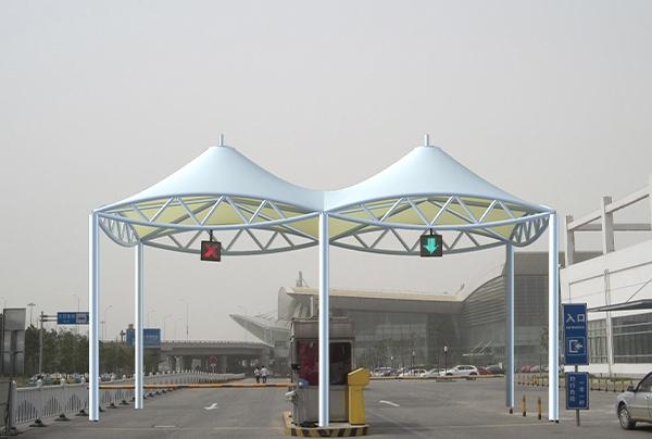 膜结构景观建筑