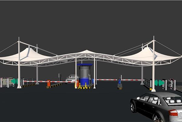 丹东膜结构景观建筑