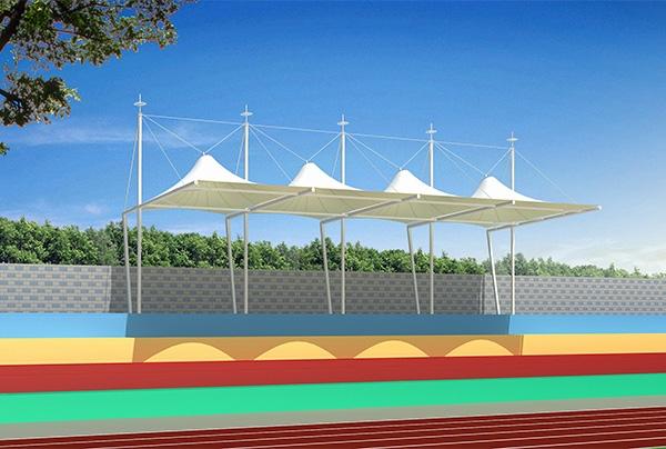 丹东膜结构景观看台