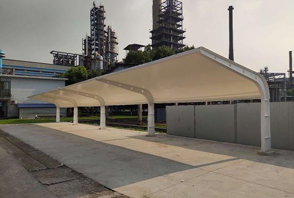 丹东膜结构停车棚